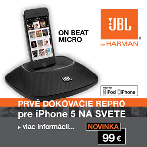 ON BEAT MICRO prvy dock pre iPhone 5/nove iPod Nano a Touch